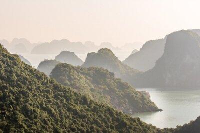 Fototapeta Zatoka Halong w Wietnamie