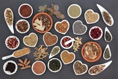 Fototapeta Zdrowa żywność dla kobiet