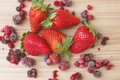 Fototapeta Zdrowe czerwonych owoców