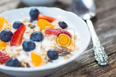Fototapeta Zdrowe śniadanie