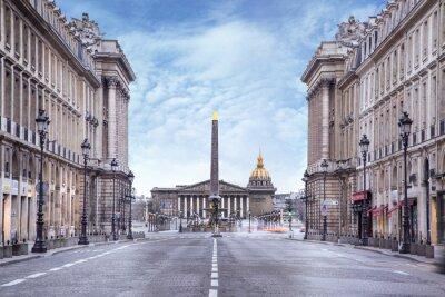 Fototapeta Zgromadzenie Narodowe i Place de la Concorde