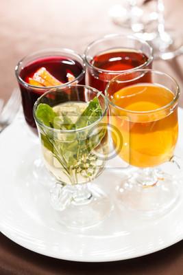 Fototapeta zima herbata