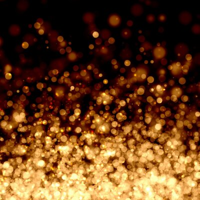 Fototapeta Złoty abstrakcyjne tło światło