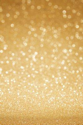 Fototapeta Złoty abstrakcyjny brokat