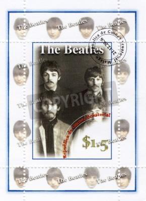 Fototapeta Znaczek z grupy The Beatles