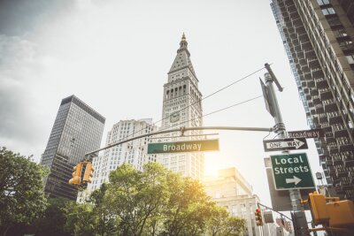 Fototapeta Znak Broadway, Nowy Jork