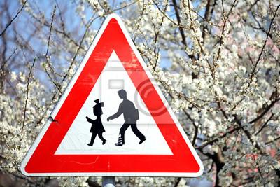 Znak drogowy - dzieci