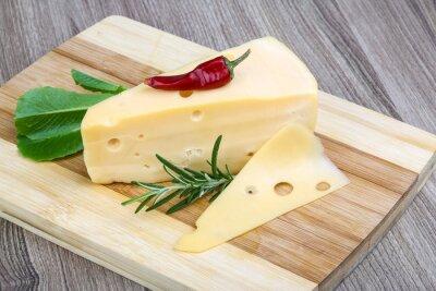 Fototapeta Żółty ser