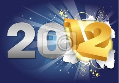 2012 - Carte de voeux