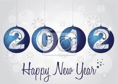 2012 z pozdrowieniami - Happy new year