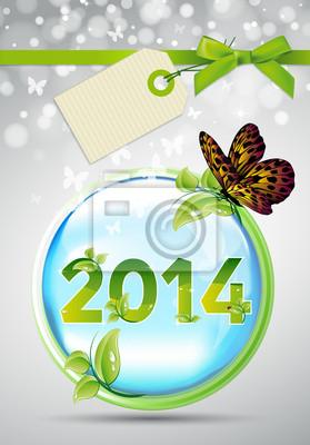 Naklejka 2014
