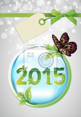 Naklejka 2015 EKOLOGIA