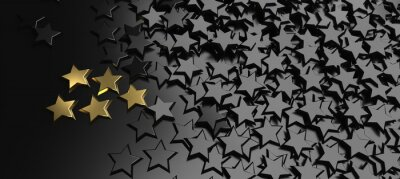 Naklejka 5 Stars Rating