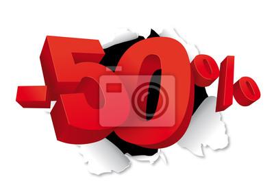 -50% Déchiré