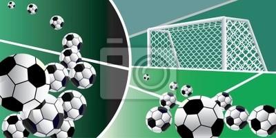 Abstract background soccer. Ilustracji wektorowych.