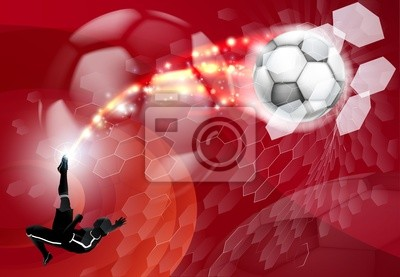 Abstract Background Sport Soccer