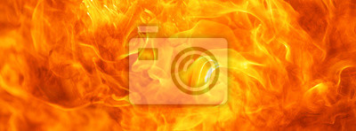 Naklejka abstract blaze fire flame texture for banner background