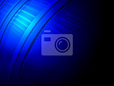 abstract blue light power over budownictwa przemysłowego, nauki