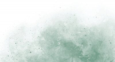 Naklejka Abstract green watercolor background for your design, watercolor background concept, vector.