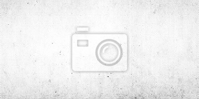 Naklejka Abstract halftone dotted background. Grunge effect vector texture
