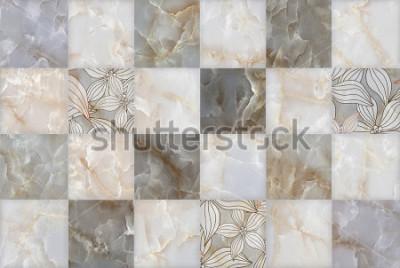 Naklejka Abstract kamień marmurowy wzór