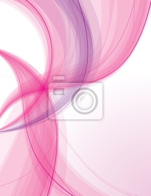 Abstract_transparent_pink_waves