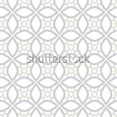 Naklejka Abstrakcjonistyczna tło tekstura w geometrycznym ornamentacyjnym stylu. Bezproblemowa konstrukcja.