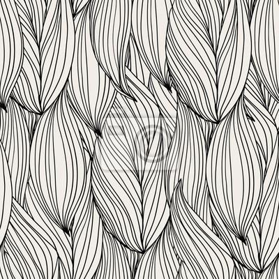 Abstrakcyjne bez szwu wzór, fale