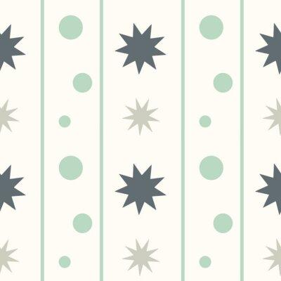 Naklejka abstrakcyjne geometryczne szwu wzór tła ilustracji wektorowych