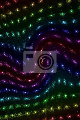abstrakcyjne tęczy moc lampy oświetlenie disco przemysł