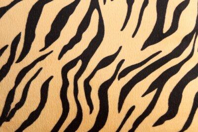 Naklejka abstrakcyjne tekstury z Tygrys bengalski