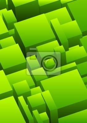 Abstrakcyjne tła miejskiego w kolorze zielonym