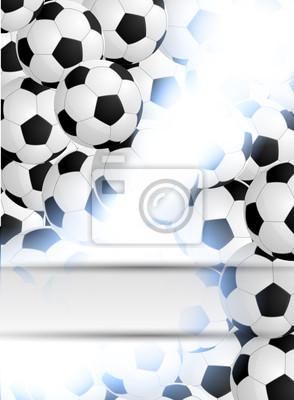 Abstrakcyjne tło z piłki nożnej