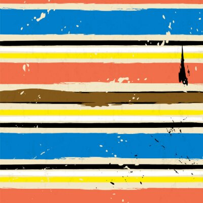 Naklejka abstrakcyjne tło z plamami, udarów i paskiem wzór,