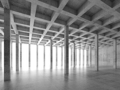 Naklejka Abstrakt architektury 3 d