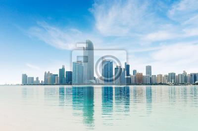 Naklejka Abu Dhabi City Panorama