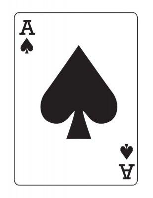 Naklejka Ace of Spades!