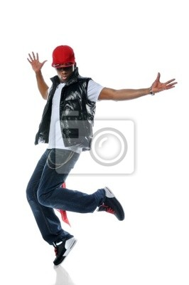 African Hip Hop Dancer amerykański