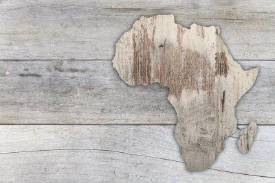 Naklejka Afryka