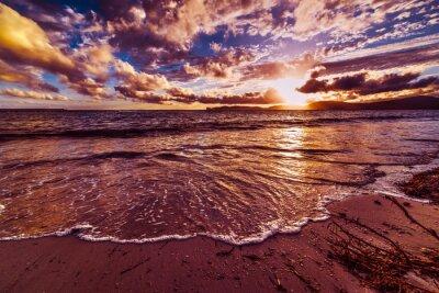Alghero na zachodzie słońca