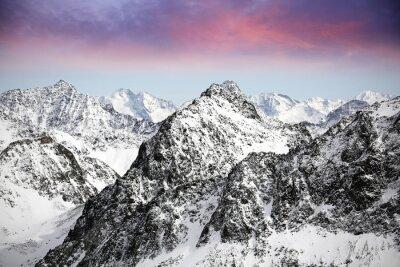 Naklejka Alpy