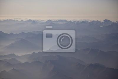 Alpy. Góra