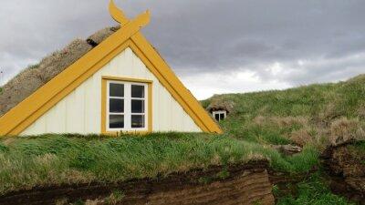 Naklejka Alter Bauernhof in Island