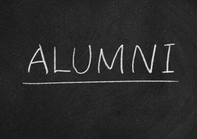 Naklejka alumni