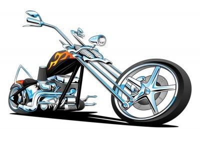 Naklejka American Chopper Motocykl na zamówienie
