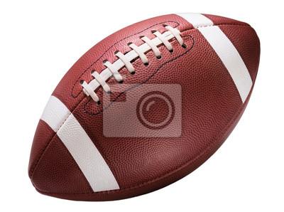 Naklejka American College High School Junior Football White