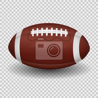 Naklejka American Football Ball
