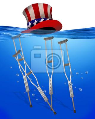 Amerykańska Underwater opieki zdrowotnej.