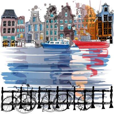 Naklejka Amsterdam