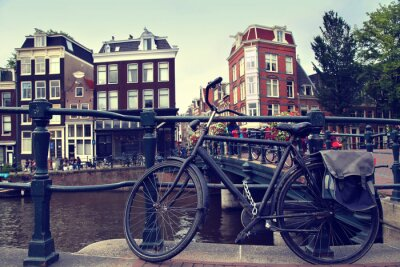 Naklejka Amsterdam, Holandia